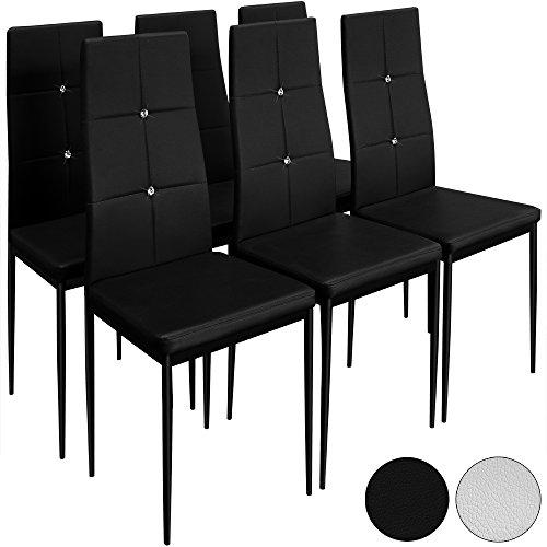 6 Esszimmerstühle Hochlehner Polsterstuhl Sitzgruppe Essgruppe Farbauswahl