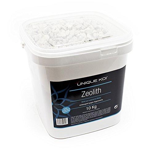 WilTec Unique Koi zéolite 10kg Granulation 9-16mm matériaux de Filtration Agent liant de Phosphate