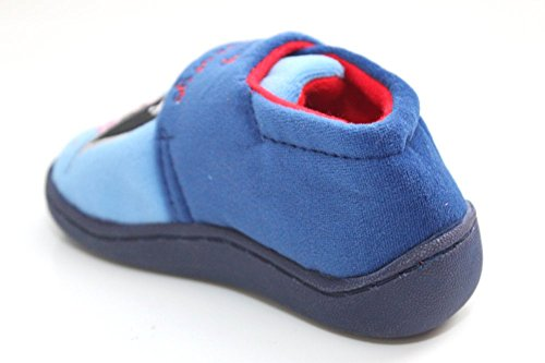 Kinder Jungen Peppa Pig George blau Hausschuhe Größe UK 4