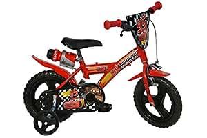 12 Zoll CARS Lightning Kinderfahrrad Kinderrad Spielrad Fahrrad Rad Bike DINO-Bike