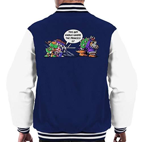 Cloud City 7 Super Ninja Bros TMNT Super Mario Men's Varsity Jacket