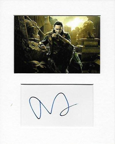 Loki–Tom Hiddleston Genuine Authentic Hand Autogramm AFTAL COA