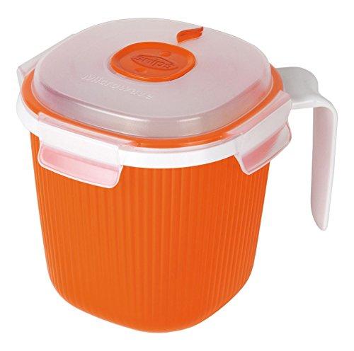Snips Mikrowelle Milch, Tee und Suppen Tasse Wärmer 0,7l, - Orange Mikrowelle