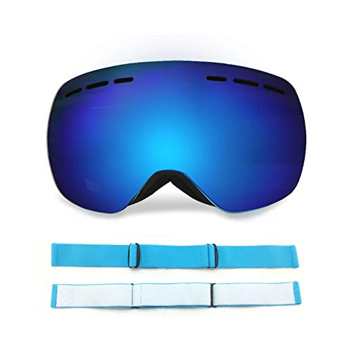 MaxAst Brille Winddicht Radsport Motorradbrille Unisex Schutzbrille Winddicht Blau