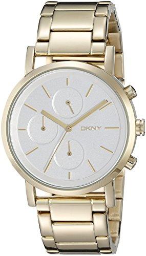 DKNY SPRING 15 ny2274 Gold Tone Steel Bracelet & Case Mineral Women's Watch