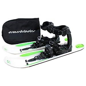 Crossblades Schneeschuhe Softboot, Tourenski System zum Schneeschuh-Wandern inkl. Wendeplatte und Tasche