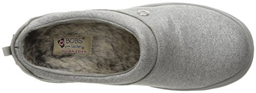 Skechers Bobs Cherish Sleigh Ride, Chaussons Bas Femme silver