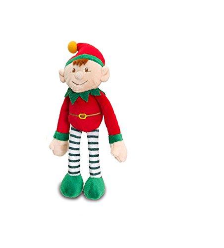 Keel Toys ciondola Elf morbido peluche (RED20CM)