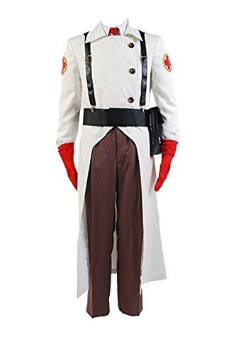 Fuman Team Fortress 2 Mediziner Cosplay Kostüm L (Team Fortress 2 Kostüme)