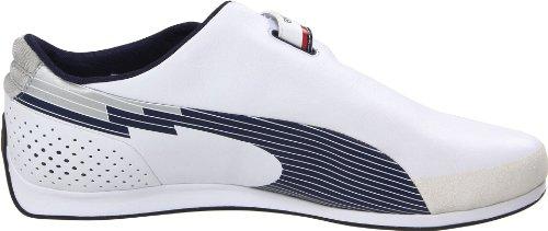 Puma Men s Evospeed F1 Low BMW Sneaker White-Medieval Blue 11 D US