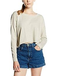ONLY Women's Onlflorence L/S Plain Cropped SWT Sweatshirt