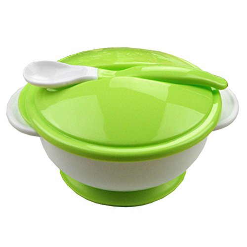 Kasstino Baby Suction Cup Bowl Slip-resistant Tableware Set Sucker Baby Bowl with FDA EN