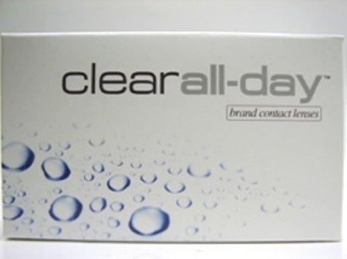 Clear All-Day Monatslinsen weich, 6 Stück / BC 8.60 mm / DIA 14.20 mm / -2.5 Dioptrien