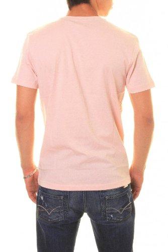 Redskins Herren T-Shirt Pink Rosé Pink - Rosé