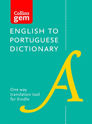 Collins English to Portuguese (One Way) Gem Dictionary: Trusted support for learning (Collins Gem) (Portuguese Edition) por Collins Dictionaries