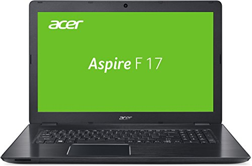 Acer Aspire F 17 (F5-771G-74P9) 43,9 cm (17,3 Zoll Full HD) Notebook (Intel Core i7-7500U, 16GB RAM, 1000GB HDD, 256GB SSD, Nvidia GeForce GTX 950M, DVD, Win 10 Home) schwarz