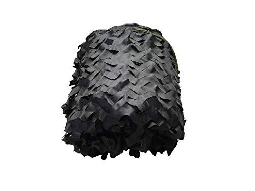 Filet de camouflage noir, Filet décoratif, Filet pare-soleil, Filet anti-solaire, Adapté à la protection contre les rayons UV Intimité Auvent Photographie Prise de vue en extérieur Observation des ois