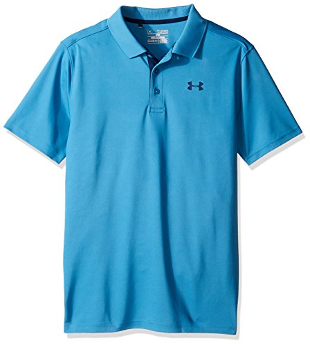 Under Armour Jungen Performance Polo Kurzarmhemd, Jungen, Chicago Blue, Youth XS