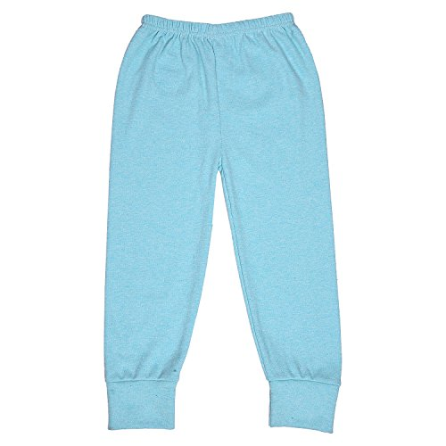 ALOFT Unisex Muliticolor Plain Cotton Full Length Track Pants - Aloft-LongGrippers2-5pcs_1-2 Years