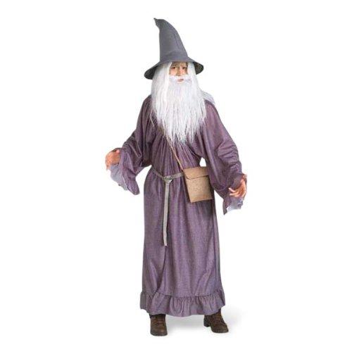 Elbenwald Herr der Ringe - Gandalf Kostüm Erwachsene, 4teilig, günstiges Karneval ()