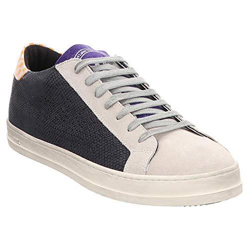P448 | E9JOHN | Sneaker - blau | Navy Iron, Farbe:blau, Größe:41