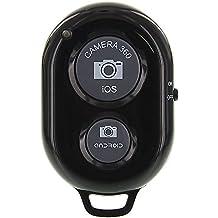 Ckeyin® Inalámbrica Bluetooth Cámara Autodisparador remoto disparador Negro para iOS-Android-Smartphone Tablet Iphone 5s 5c 5 4s Ipad 3 2 Mini iPod Sony Xperia Samsung Galaxy S2 S3 S4 S5 Note 1 2 3 GALAXY Tab 2 note8 10.1+ Note 1/2/3+ Nexus 4 5 7 DC450