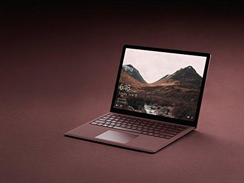Microsoft 3429 cm 135 Zoll surface area Laptop Intel root i5 256GB Festplatte 8GB RAM Intel HD Graphics 620 Win 10 S Bordeaux Rot Notebooks