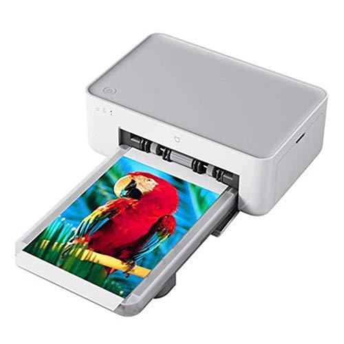 HBLWX Mini-Farbfotodrucker, WiFi Wireless Portable Lightweight HD-Farbdruck Bilder Kompatibel mit iOS und Android, NFC Bluetooth - Owl Gewicht Papier