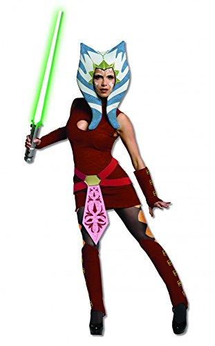 Star Wars Ashoka Kostüm für Damen, (Wars Ashoka Star)