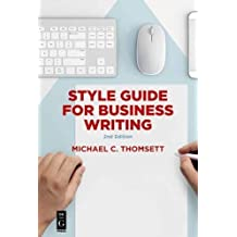 Style Guide for Business Writing