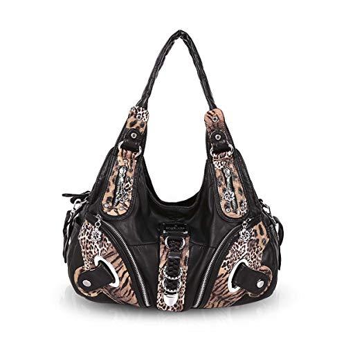 NICOLE & DORIS Damen Hobo Schultertasche Große Totes Slouch Handtaschen Crossbody, Leder (Handtaschen Frauen Slouch Für)
