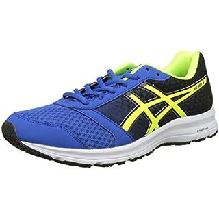 ASICS Men's's Patriot 9 Training Shoes Victoria Blue/Safety Yellow/Black 4507, 11 UK 46.5 EU