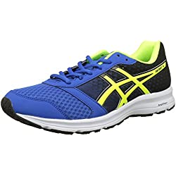 Asics Patriot 9, Zapatillas de Entrenamiento para Hombre, (Victoria Blue/Safety Yellow/Black 4507), 42.5 EU