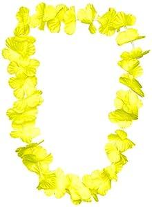 UV Floor 3700817022635 - Collar hawaiano, color amarillo fluorescente