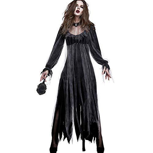 Unbekannt Vampirin Tot Verstorben Leichnam Ghost Zombie Braut Halloween Horror Kostüm Kostüme ()