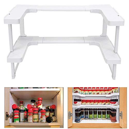 Küchen-Regal Einstellbarer Seasoning Organizer/Küchenregal