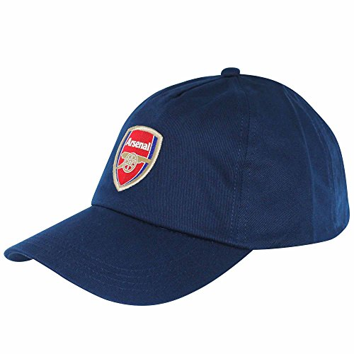 Arsenal FC (Premier League) Fußball Crest Baseball Cap - Fc Arsenal-fußball-hut