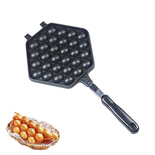 Ganmaov Gofrera Máquina Bubble Waffle Maker Antiadherente Huevo Burbuja Pastel De La Hornada Placa De Molde Que Iron Griddle Cocina para Hornear Máquina