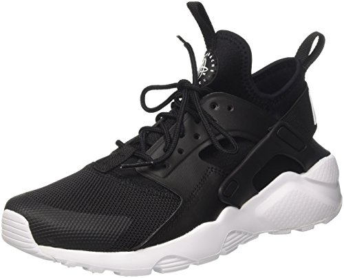 Nike air huarache run ultra gs, scarpe da ginnastica basse bambino, nero (black/white 020), 36 eu