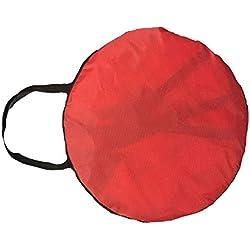 Moligh doll Voiles Pliantes Légères de Kayak de 42 Pouces Voiles de Canotage de Dérive de Cano? Rouge
