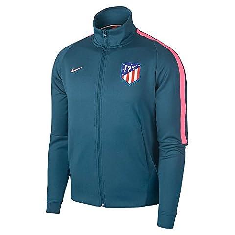 2017-2018 Atletico Madrid Nike Authentic Franchise Jacket (Space Blue)