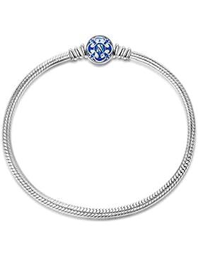 NinaQueen Charm Armband-Damen 925 Sterling Silber