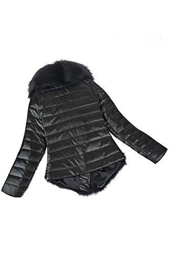 ... Babyonlinedress Abrigo de pelo artificial de oveja para mujer en  invierno manga larga cuello alto de pelo · Anterior ·   Siguiente dbc233f047c3