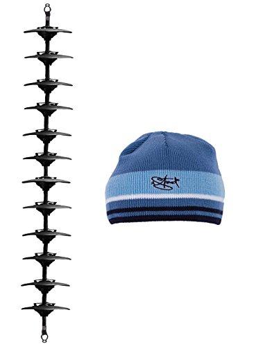 Original Caprack XXL Kappenhalter zum Aufhängen und Präsentieren von 12 - 36 Basecaps + Wintermütze von 2Stoned