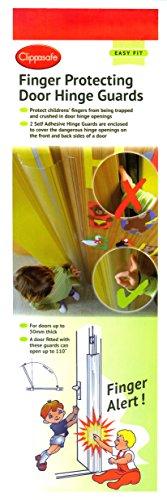 Clippasafe - Finger alert - Anti pince-doigts pour portes (Lot de 2)