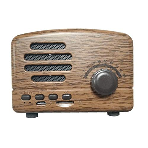 WwzEITpV Bluetooth Speaker Vintage Radio Design Bluetooth