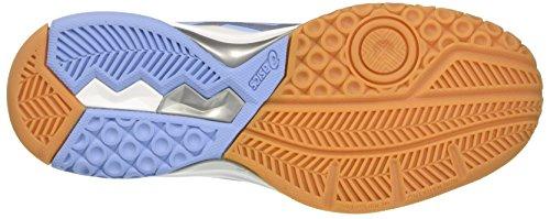 Asics Gel-Rocket 8, Scarpe da Ginnastica Donna Blu (Airy Blue/Silver/White)