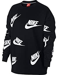 nike Sweater  – Sportswear Futura black/white size: S (Small)