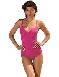 Feba Bañador estilizador de la figura para mujeres Stephania (Rosa, EU Cup 105C (ES 120C)/Bottom 50 )