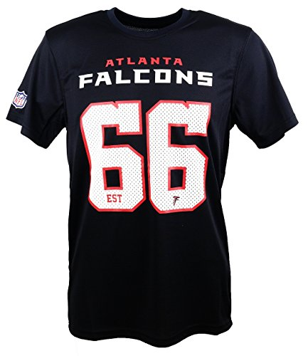 New Era Atlanta Falcons New Era T Shirt/Tee NFL Supporters Black - L